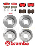 Brembo Front And Rear Rotors And Ceramic Pad For 05-19 Toyota Fj Cruiser 4runner