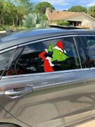 Mean Ole Mr. And Elf On The Shelf Car / Truck Window Clings Free Shipping