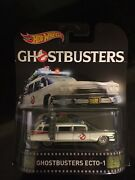 Hot Wheels Ghostbusters Ecto-1 Adult Collector Metal Car