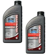 Bel-ray Gear Saver Transmission Oil 80w 1 Liter Motorcycle And Atv 2 Pack