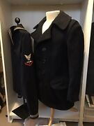 Wwi Navy Peacoat And Jumper Aviation Petty Officer