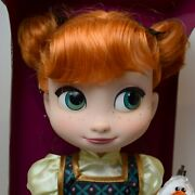 Disney Store Animator Collection Frozen Disney Anna With Olaf