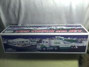 2010 Hess Toy Truck And Jet New In Box