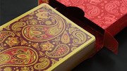Paisley Royals Red Playing Cards Deck By Dutch Card House Company Brand New