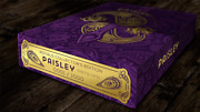 Collector's Paisley Royals Purple Numbered Seals Playing Cards Deck By Dutch C