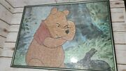 Rare Completed Jigsaw Puzzle -winnie The Pooh Pooh Bear Actual Pictures