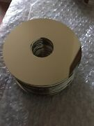 Lot Of 50 Scrap Hdd Platters Platinum And Silver Recovery Art