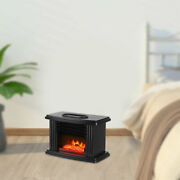 1000w Electric Fireplace Heater Portable Air Heating Winter Warmer Fan Stove New