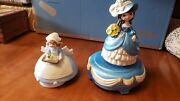 Porcelain Nurse Spoonful Of Sugar Albert Price Music Box And Another Both Work