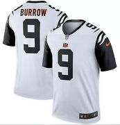 Adult Bengals Joe Burrow 9 Nike Official Nfl 2020 Color Rush Game Jersey