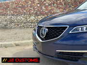 2015 - 2017 Acura Tlx Diamond 2018+ Style Grille Oem Emblem And Chrome Surround
