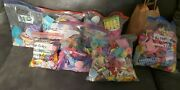 Huge Lot Over 1000 Pieces Barbie Accessories Food Brushes Dishes Animals Beach