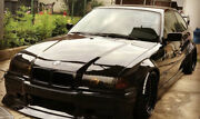 Bmw E36 Fender Flares Wide Body Kit Arch Extensions 2 Wider Than Stock 4pcs