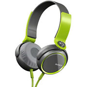 Sony Mdrxb400/grn Extra Bass Over The Head 30mm Driver Headphone, Green New