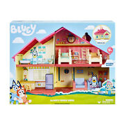 Bluey - Official And Licensed Mini Figurine Family Home House Playset New