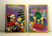 Christmas With The Simpsons 1 And 2 Dvdand039s Great Family Movies Fast Free Shipping