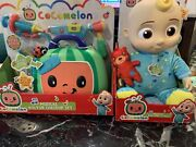 Cocomelon Plush Bedtime Jj Doll 10in W/ Sound - And Musical Doctor Chekup Set