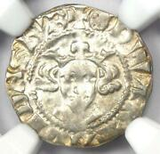 Britain England Edward I Penny Coin 1279-1307 Ad - Certified Ngc Ms64 Bu Unc