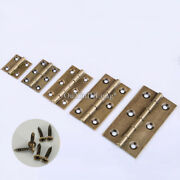 20pcs Antique Brass Cabinet Hinges Wood Cases Jewelry Gift Box Furniture Hinges