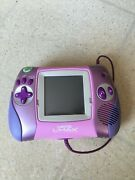 Leapfrog Leapster L-max Learning Game System Tested - Pink - Plus 2 Games