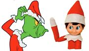 And Elf Car / Truck Window Clings Free Shipping