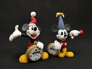 Disney Mickey Mouse A Christmas To Remember Ornaments 2 1999-2000 - Numbered