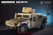 Go-truck 1/6 Scale Heavy Armored Hmmwv Uah-m1114 Car Model For 12and039and039 Instock