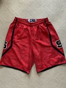 Adidas Nc State Wolfpack 2013 Team Issue Authentic Basketball Shorts 2xl Xxl Red
