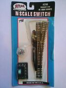 Atlas N Scale Standard N Line Switch 6 Right Remote 2705 Ts