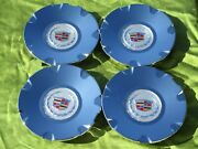 4- New Cadillac Cts/sts Chrome Center Caps -4578 4582 2004-2009