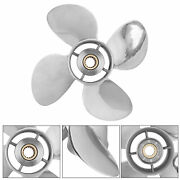 Outboard Propeller Marine For Yamaha 50-130hp Outbord Engine 4-1/4in Gearcase