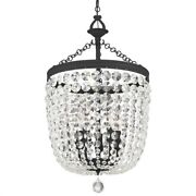 Crystorama Lighting 785-bf-cl-s Archer - Five Light Chandelier In Classic Style