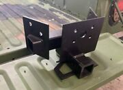 Heavy Duty Hmmwv Hitch Humvee 2 Inch Receiver For An Airlift Bumper M1123