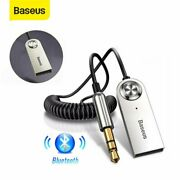 Baseus Wireless Bluetooth 5.0 Receiver 3.5mm Car Aux Audio Stereo Music Adapter