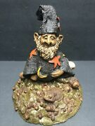Tom Clark Gnome Wizard Very Rare Early Piece Signed By Tom Clark Ed 16