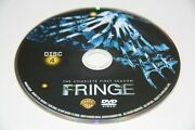 Fringe First Season One 1 - Disc 4 Dvd Only - Free Shipping