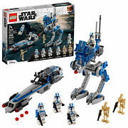 Lego Star Wars 75280 501 Legion Clone Troopers Battle Pack And Droids In Hand New