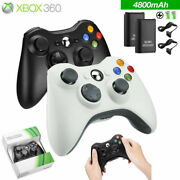 For Xbox 360/pc Wins Wired / Wireless Controller Gamepad Joystick Usd Receiver