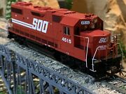 Ho Scale Athearn Gp38-2 Soo Line All Red Dc Powered Diesel Locomotive New