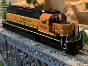 Ho Scale Athearn Sd40 Bnsf Diesel Powered Locomotive Dc Or Dcc Amazing Details