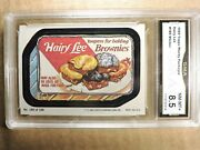 1980 Wacky Packages Hairy Lee 180 Stk 1166 Gma 8.5