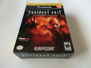 Resident Evil 10th Anniversary Collection Gamecube Gamestop Exclusive Complete