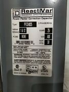 Square D Power Factor Correction Capacitor Nema Eemac 1and12 480 V 30 A.