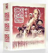 Once Upon A Time In China Trilogy + Part 4 Le Blu-ray Box Set - Region B