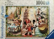 Ravensburger Disney Vacation Mickey And Minnie 1000 Piece Puzzle - New