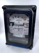 General Electric 706x66g259 Polyphase Watthour Meter, Used