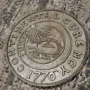 1776 Continental Currency Hand Carved Wooden Coin Plaque