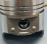 Lincoln Mercury Ford Pistons + Rings Kit 430 1963 64 65 Crowned Top