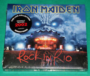 Iron Maiden - Rock In Rio Brazil 2020 2cds Digipack The Studio Collection New
