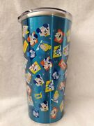 Disney Disneyland 65th Anniversary Hot Cold Stainless Steel Insulated Tumbler